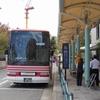 京津線代行バス最終日乗車