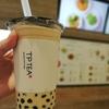 新宿駅新南口の「tp tea(ティーピーティー)」で行列のできる大粒タピオカミルクティーを飲んできました!【春水堂系列店】