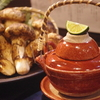 「松茸」×「地鶏」とっても立派な松茸入荷しました☆神戸三宮の松茸料理は安東へ