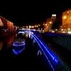 北海道 小樽市 小樽運河 / 小樽ゆき物語 青の運河