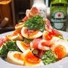 【レシピ】生ハムと味玉のブロッコリーサラダ