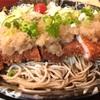 そば膳古淵松貴『勝おろし』夏に食べたい一品という事でいただきます。おろしの乗ったとんかつはジューシーで美味かった!!