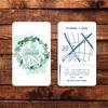 【大阪の野田カフェ】ショップカードのデザイン