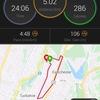 先週の活動報告 - 久々に20km走ったら。。