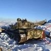 パキスタンの海抜3675メートルの雪峰に中国製戦車が出現