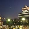 清洲城で盆踊り