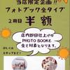 フォトブック2冊目半額 夏の想い出キャンペーン実施中!!