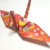 「フルサイズ折り鶴のオブジェ」制作過程&裏話