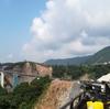 開通した長陽大橋ルートを走る