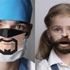 病院が怖いところがないということを知らせてくれるマスク