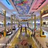 ブルネイの芸術的なショッピングモール