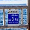 海底地滑りによる津波の恐ろしさ