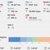 信州駒ヶ根ハーフマラソンの練習(2)