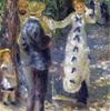 絵画スイング6         『ぶらんこ』ルノアール