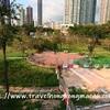 <香港:深水埗>南昌公園 ~広い芝生が心地よい大きな公園~