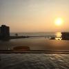 《余談》琵琶湖を眺めながら入る露天風呂は最高でした。