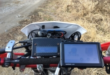 全てのバイクに使える正確なデジタルスピードメーターを自作~ArduinoとGPSモジュール