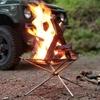 焚き火を安全に楽しむための必需品 UJack メッシュファイアスタンド レビュー