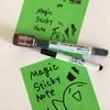 ISOT2017:Magic Whiteboardをじっくり試す。静電気式のふせんについて。