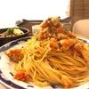 『蜜玉』上本町-甘味処の昔懐かしい特盛スパゲティ-