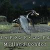 【FF14】 モンスター図鑑 No.089「ミッドランド・コンドル(Midland Condor)」