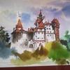 ルーマニア② 寒い雨のドラキュラ城