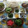 家庭菜園の夏野菜で作るスペシャル素麺。