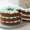 チョコミントケーキと、アイスカフェラテの作り方