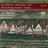 Gramolaレーベルからトーマス・アルベルトゥス・イルンベルガー  ストラヴィンスキー:ヴァイオリンのための作品集