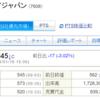 【適示開示】ストップ高でも買えた エスケイジャパン(7608)2