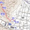 兵庫県市川町の鶴居城山(433m)(南コース往復)
