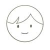 前髪のある男の子の顏アイコン