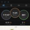ランニングログ 10/17 走りたいのに雨に阻まれ5日ぶりのラン!!やはり呼吸は楽に走れて嬉しい!!