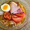 8月3日★暑い夏の日には盛岡冷麺!東北旅行で初めて食べた味を思い出して作りました。やっぱり美味しい♪さっぱりといただきます★