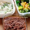 本日のフードライター弁当:豆とひき肉のカレー弁当/悲報