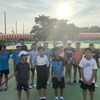 松戸テニス倶楽部練習マッチ!