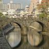 なつかしの地、長崎紀行~ ランタンフェスタ仕様の眼鏡橋!