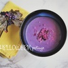 【レシピ】簡単ハロウィン料理*紫キャベツのヴィーガンポタージュ