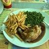 ランチを食べにフランスへ