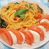 生トマトとモッツァレラチーズでクイックパスタ