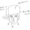 ジョジョ(空条承太郎)の簡単な描き方