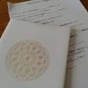 山口聖子さんの 1 3 のエネルギー手帳の会 《描いて感じる会☆濃縮バージョン》 に参加してきました。