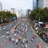 東京マラソン応援ラン