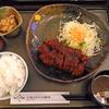 「広小路キッチンマツヤ」の「特選ロース味噌かつ」