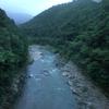 朝の保津峡
