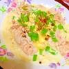 穂先筍と豚しゃぶのひんやり豆乳稲庭うどん