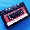 セリアのカセットテープ型マグネット。