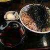 蕎麦ちばから@渋谷の冷たい肉蕎麦