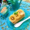 キウイとチーズカスタードのクラッカーミルフィーユ