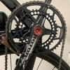 ロードバイクの点検中に問題発見 rotorボルトの緩み